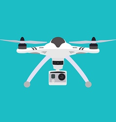 Quadrocopter Flat style quadcopter vector