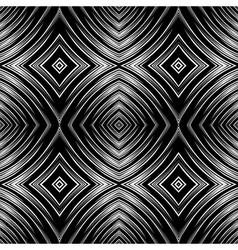 seamless op art texture vector image