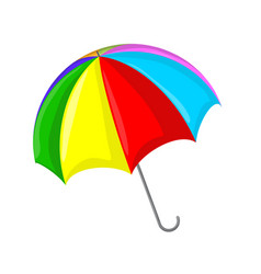umbrella symbol icon design vector image