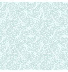 Christmas seamless ice pattern vector image vector image
