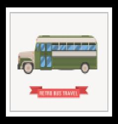 Retro omnibus vector