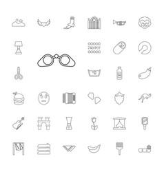 33 art icons vector