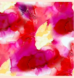 abstract ink background with watercolor art vector image