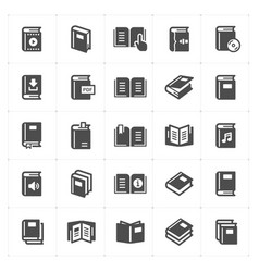 book filled icon vector image