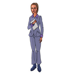 Bussineswoman vector