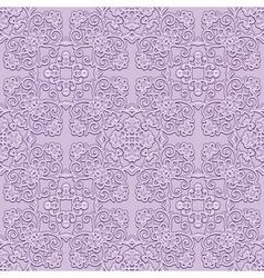 Floral swirls pattern vector image