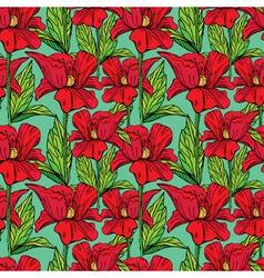 flowers handdrawn 22 380 vector image