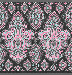 ornamental seamless pattern vintage vector image