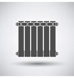 Radiator icon vector image