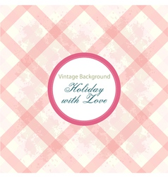 Shabchic background with pattern vector