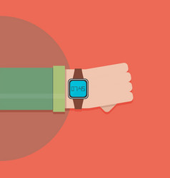 smart watch - vector image