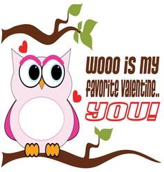 Favorite Valentine vector image vector image