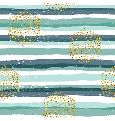 Abstract geometric seamless pattern with stripes vector