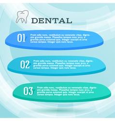 Ads dentist toothpaste leaflet vector