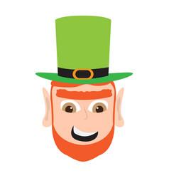 Avatar of a angry irish elf vector