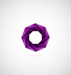 Decorative Icon - Octagon vector image