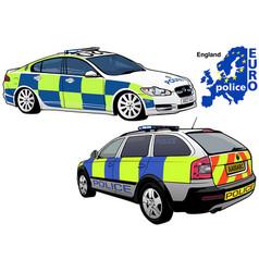 England police car vector
