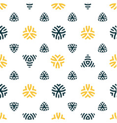 seamless pattern design modern stylish texture vector image