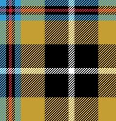 cornish tartan seamless pattern fabric texture vector image vector image