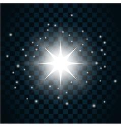 Shine star sparkle icon 12 vector image vector image