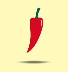 Red Jalapeno Vegetable vector image