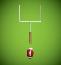 Americanfootballball vector image