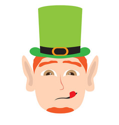 Avatar of a irish elf vector