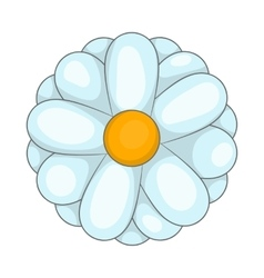 Daisy icon cartoon style vector
