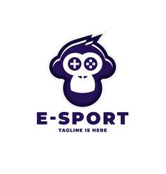 E sport logo vector