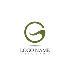 G letters logo and symbols template icons app vector