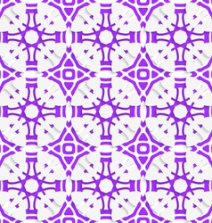 Geometric ornament with violet seamless vector image