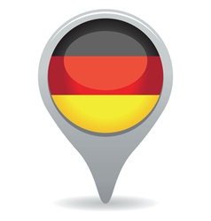 german flag pointer vector image