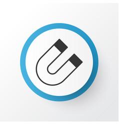 Magnet icon symbol premium quality isolated vector