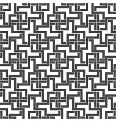 Seamless pattern of intersecting zigzag shapes vector