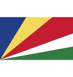 Seychelles flag image vector image