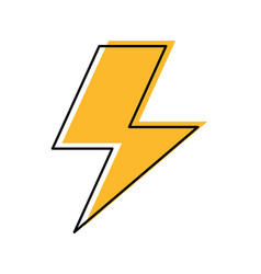 Thunder ray isolated icon vector