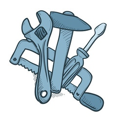 Mechanic Tools vector image