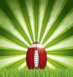 Americanfootballball vector image vector image