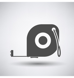 Constriction tape measure icon vector