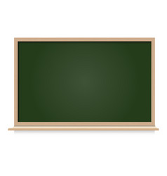 black board blank space isolated vector image