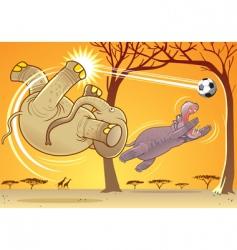 animal fun vector image