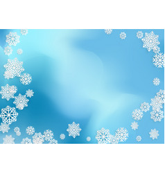abstract winter background with background with vector image