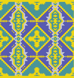 ethnic traditional american style textile vector image