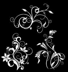 flourish pack 2 vector image