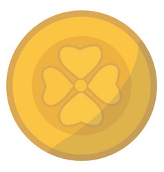 gold money coin payment exchange growth economy vector image