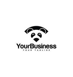 panda wifi vector image