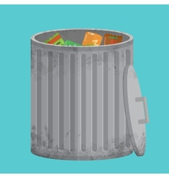 Trash can icon xxl vector