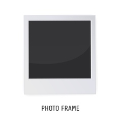 Retro Photo Frame Isolated on a White background vector image vector image