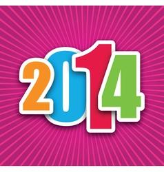 2014 pink vector