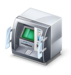 atm machine vector image